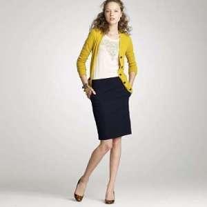 Model Rok Span Pendek dengan Rangkapan Blouse