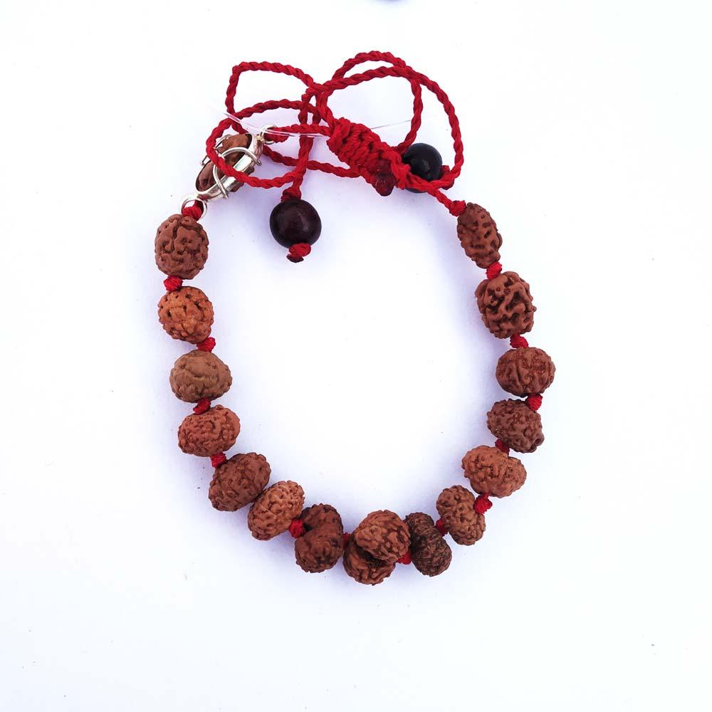 1 to 14 Mukhi Sarv Siddha Rudraksha Bracelet