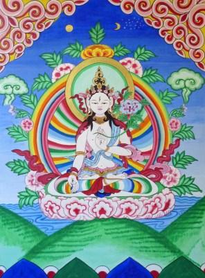White Tara ©1997 Lama Lhanung