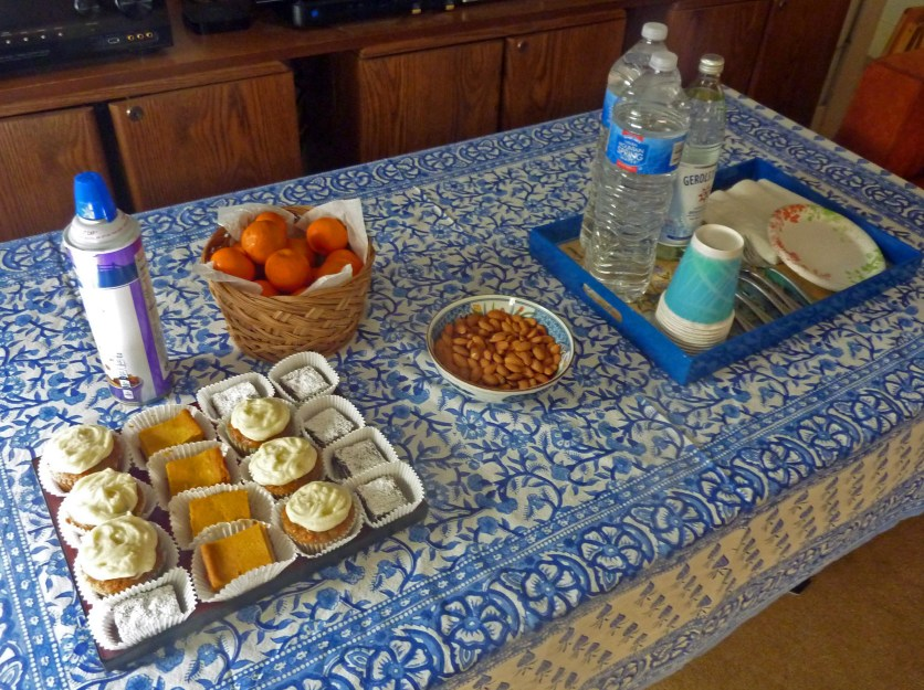 Homegrown Tangerines Roasted Unsalted Almonds Drinks: