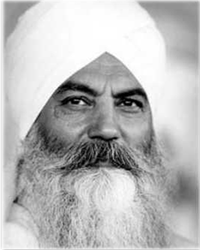 "Today: ""We are not fools when we tell you, ""Get up in the morning and have a cold shower."" – Yogi Bhajan"