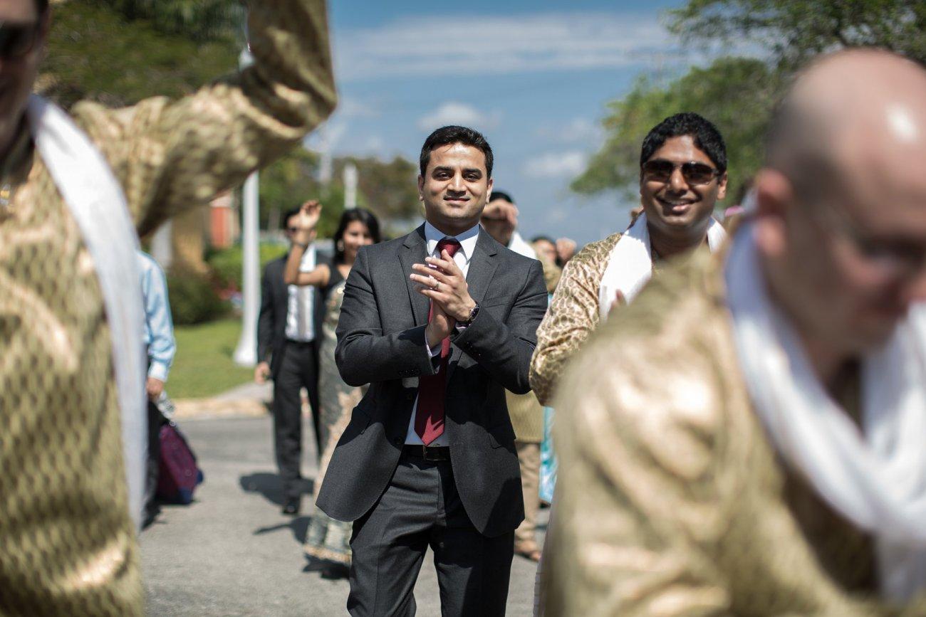 S1-1-1349 Sheetal + Guru   Hindu Indian Wedding Photos   South Florida