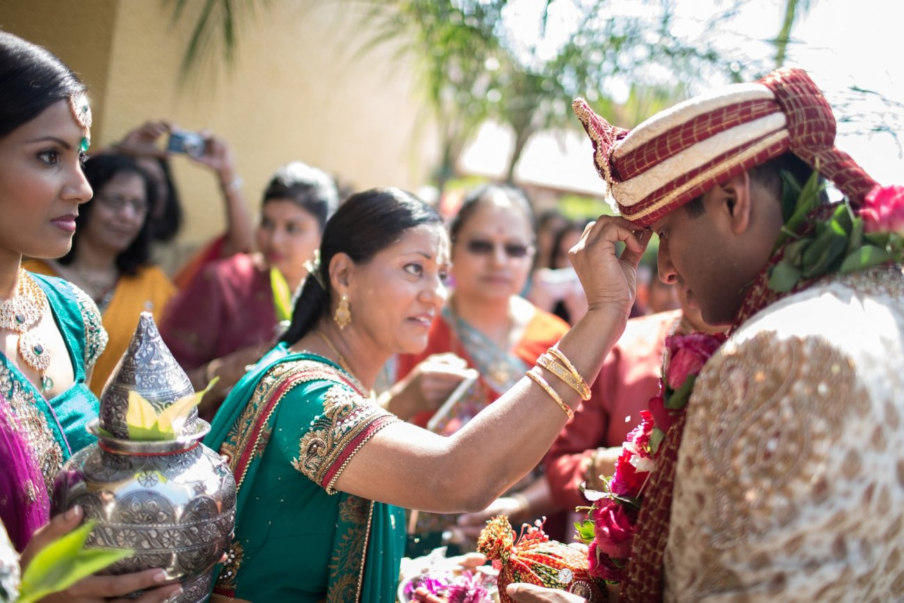 S1-1-1372 Sheetal + Guru | Hindu Indian Wedding Photos | South Florida