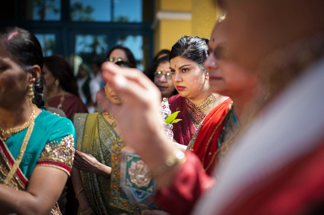 S1-1-1378 Sheetal + Guru | Hindu Indian Wedding Photos | South Florida