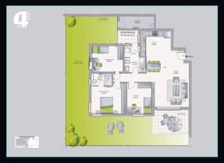דירת גן 4 חדרים אשדר חריש