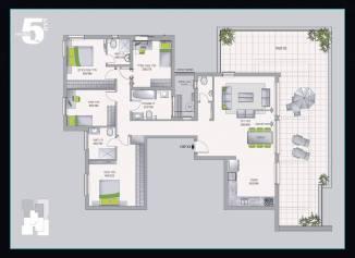 פנטהאוז 5 חדרים אשדר חריש