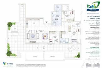 פנטהאוז 5 חדרים PH1-A4
