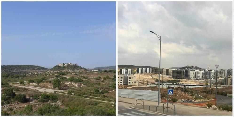 שכונת אבני חן 2013 ו-2017