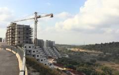 בנייה מדורגת בצפון העיר חריש