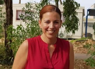 קרין פלג נוימן - מנהלת מחלקת הספורט בחריש