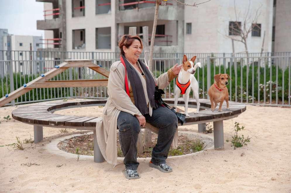 איה זינגר גינת הכלבים