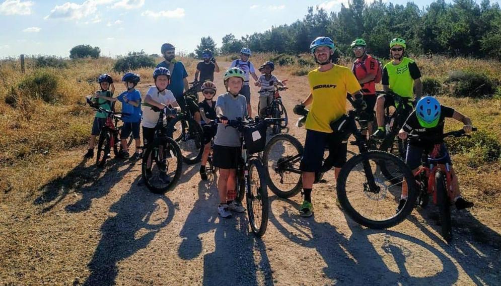 אופניים, רוכבי אופניים, הורים וילדים