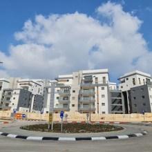 בנייני מתחם B בשכונת בצוותא צילום: מיכל מור