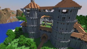 minecraft picture castle