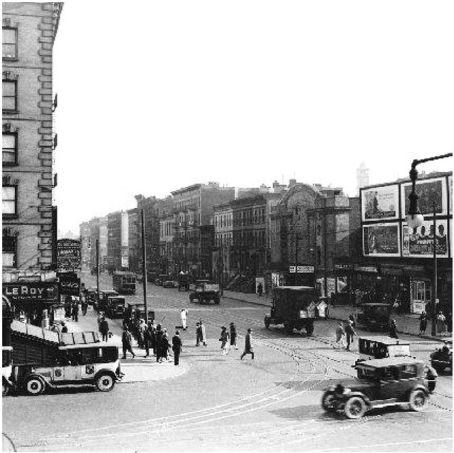Lenox Avenue Harlem 1927