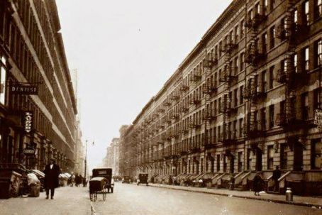 randolph houses The buildings on West 114th Street as they looked in 1928