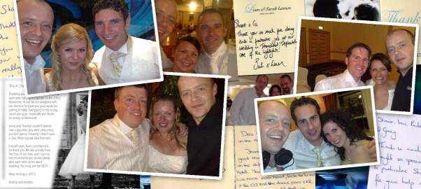 Wedding Band Testimonials