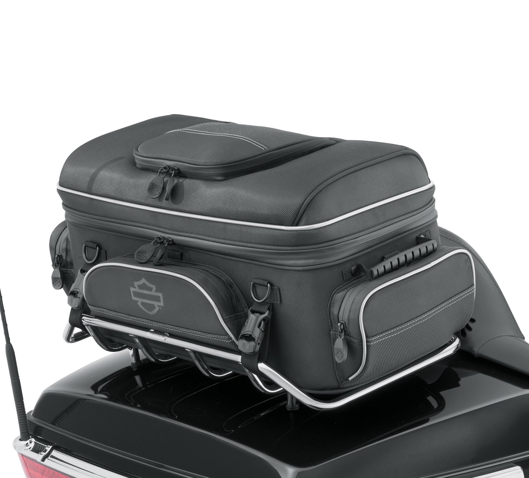 onyx premium luggage tour pak rack bag