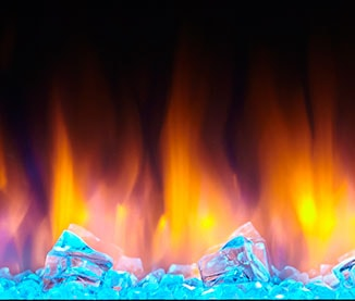 Ice Blue Ember Bed