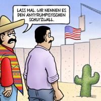 In der DDR war doch nicht alles so schlecht. Die mexikanische Trump-Mauer. Und Hitler?