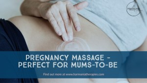 Harmonia Therapies pregnancy massage