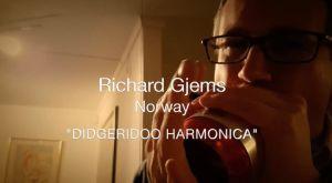 Richard Gjems harp wah