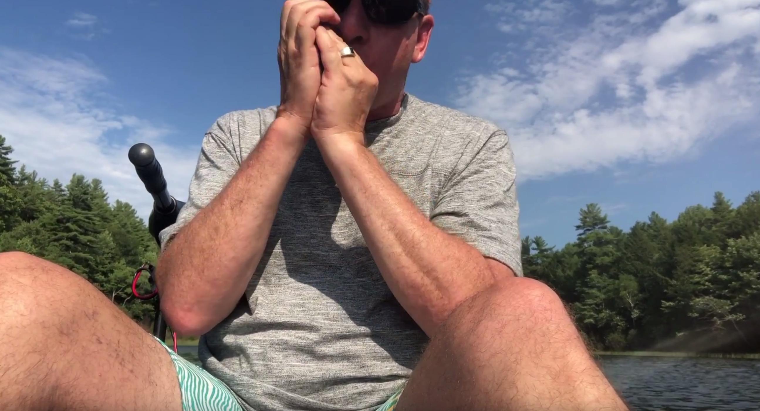 Paul Butterfield – Fishing in a Kayak….
