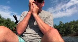 Paul Butterfield – Fishing in a Kayak