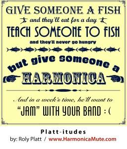 Harmonica Jokes Jamming