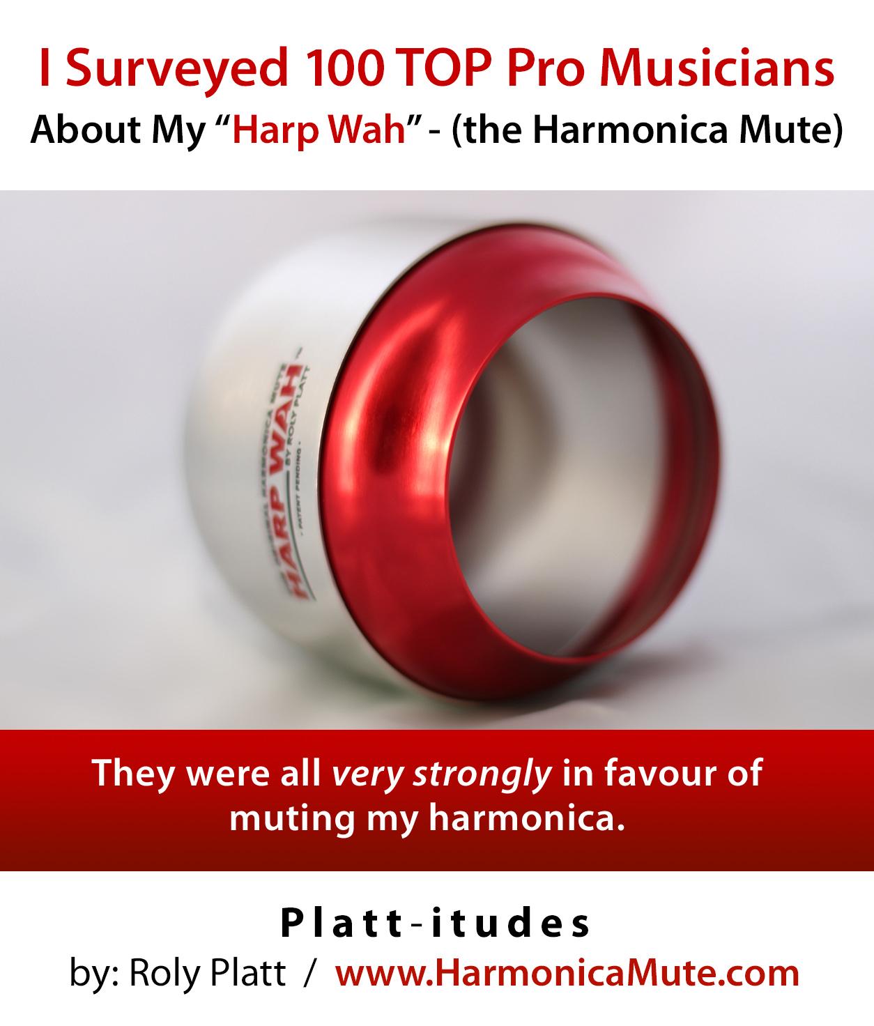 Harmonica Mute