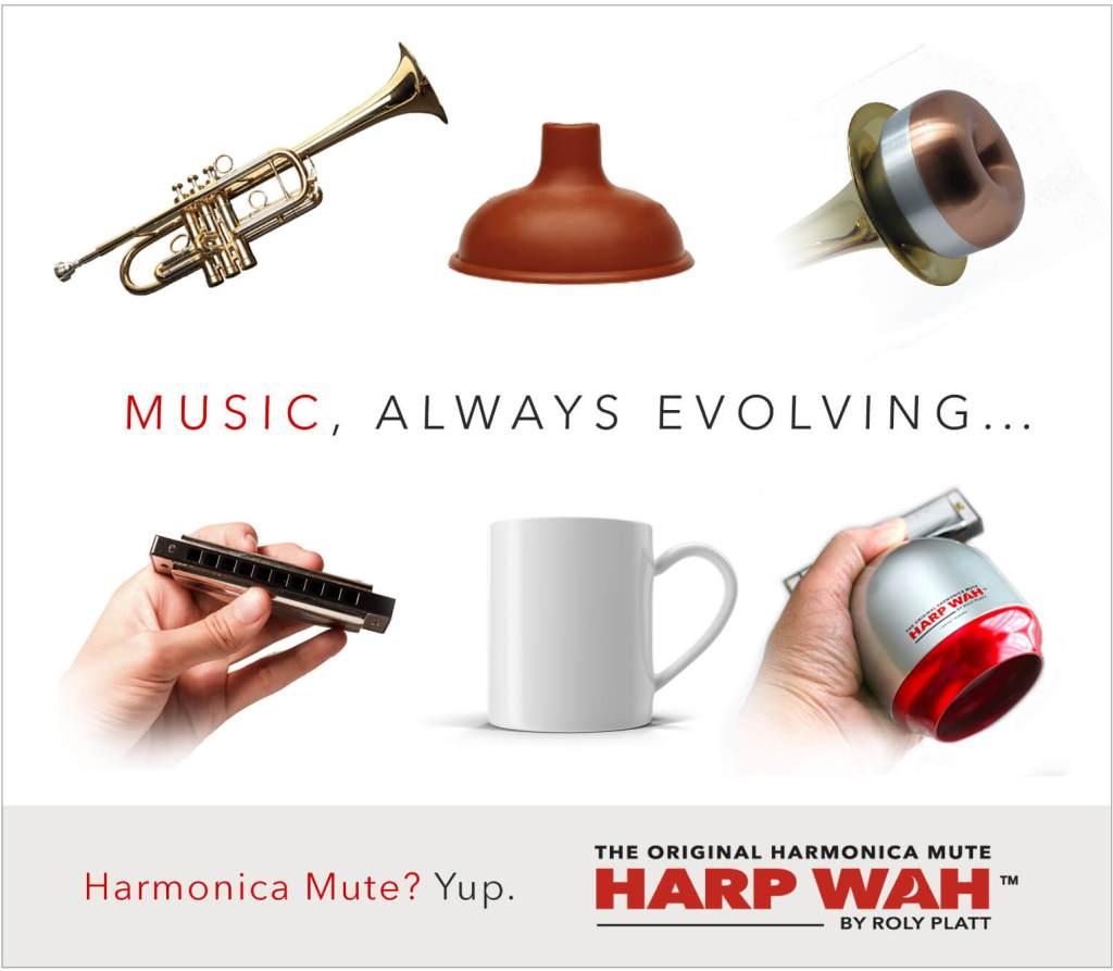harmonica mute evolution