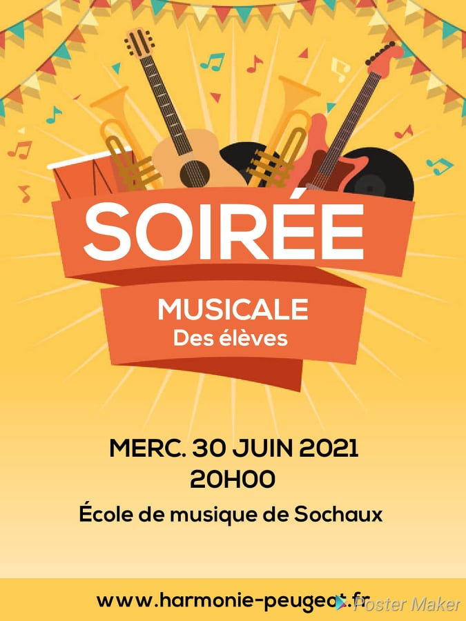 SOIREE MUSICALE DES ELEVES