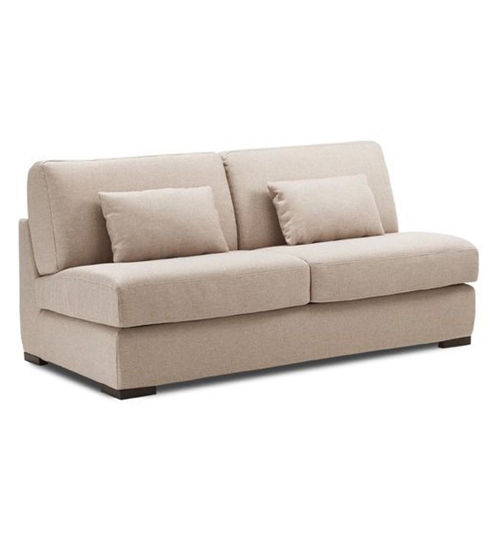 petit canape lit couchage quotidien 1 place 120 140 160 tissu tennessee
