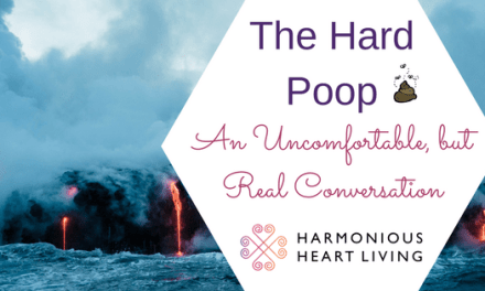 THE HARD POOP : An Uncomfortable, but Real Conversation