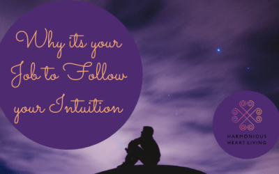 Why It's Your Job To Follow Your Intuition!