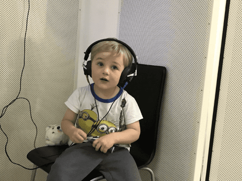 Children's hearing tests in Pert and Freemantle