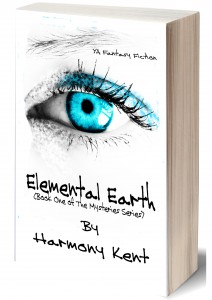 3D-Book cover Elemental Earth