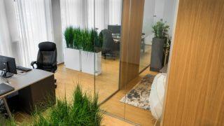 HarmTex kardinad Web Expert Pärnu kontoris, sisekujundaja Palazzo Interiors