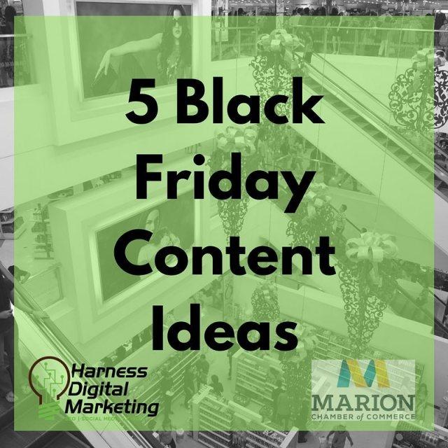 Black Friday Marketing  5 Content Ideas Black Friday markshellip