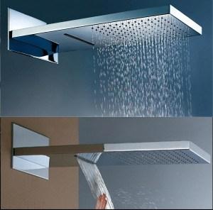 Dual Rainfall shower