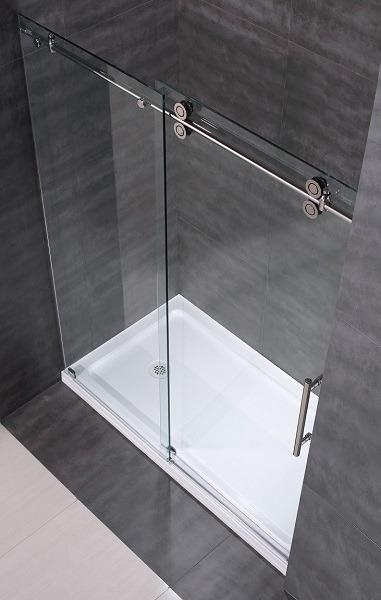 Frameless shower Tub Door