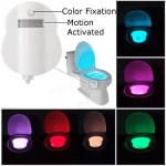 Toilet Bowl Nightlight for Bathroom