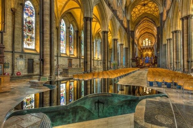 Salisbury Baptismal Font