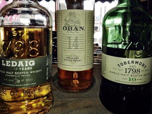 Oban Scotch Tasting