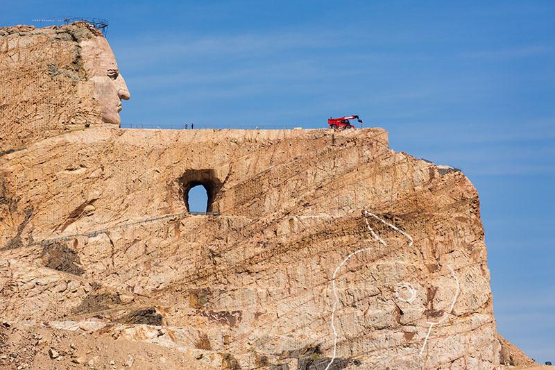 Crazy Horse Memorial, Black Hills of South Dakota - Harold Hall ...