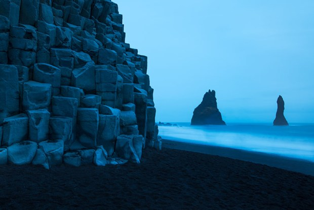 Reynisdrangar Basalt Column Beach