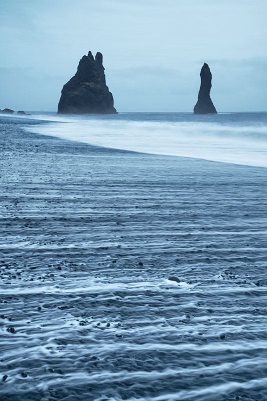Black Sand Beach at Reynisdrangar