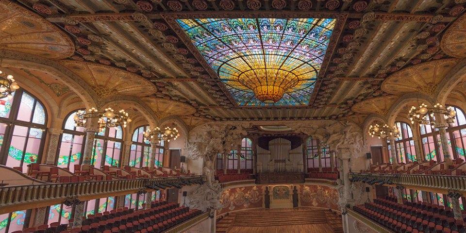 Barcelona Music Hall Panorama