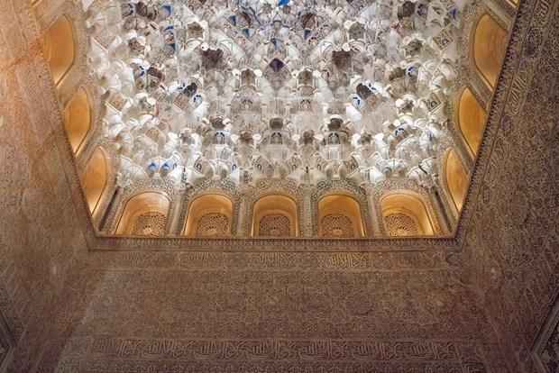 Alhambra Ornate Ceiling