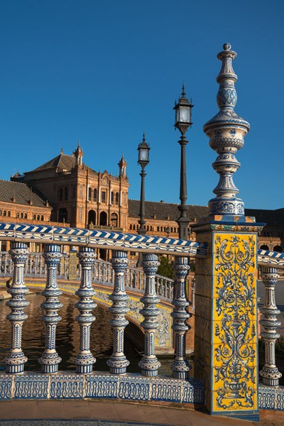 Espana Yellow Tiled Bridge